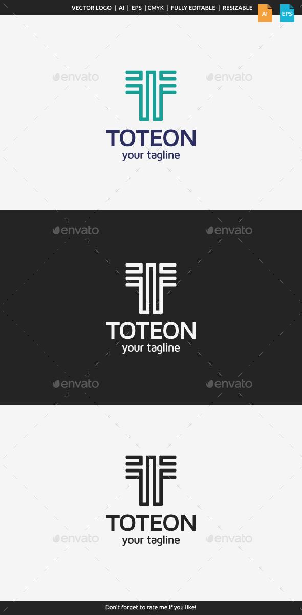 Toteon Logo - Letter T - Letters Logo Templates