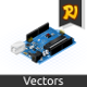 Isometric Single Board Microcontrollers - GraphicRiver Item for Sale