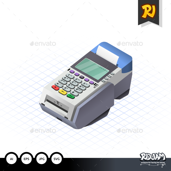 Isometric Electronic Data Capture - Retail Commercial / Shopping