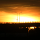 Sunset Over Bridge in Sweden - VideoHive Item for Sale
