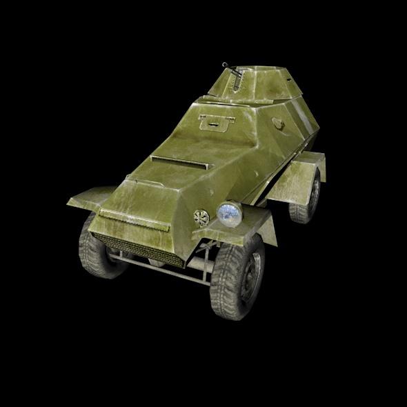Armored Car BA-64 - 3DOcean Item for Sale