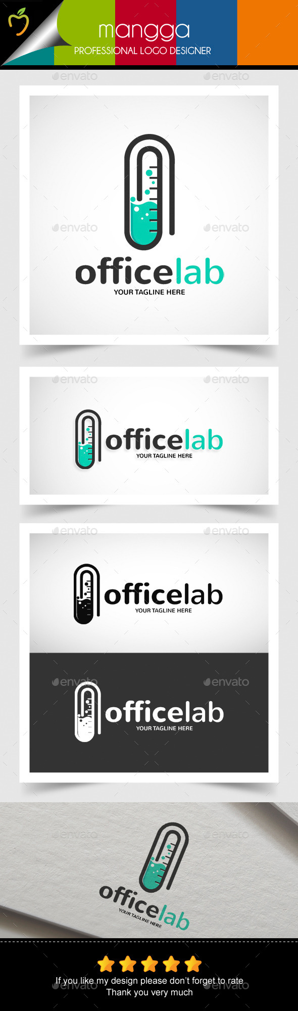 Office Lab Logo - Symbols Logo Templates