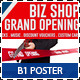 Agency & Shop Grand Opening B1 Poster - GraphicRiver Item for Sale