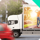 7 Mobile Billboard Mock-up - GraphicRiver Item for Sale