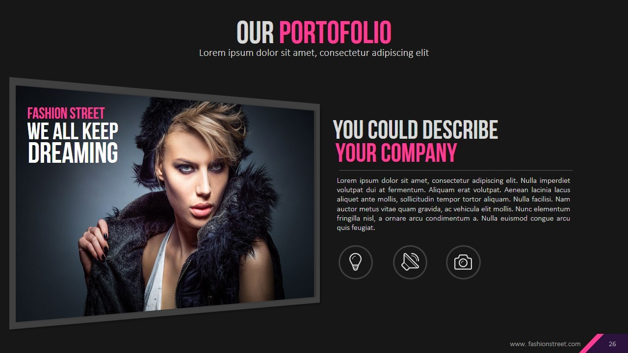 fashion powerpoint template gallery - templates example free download, Modern powerpoint