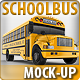School Bus Mock-Up. 3d Schoolbus - GraphicRiver Item for Sale
