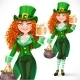 Leprechaun with Pot of Gold Offers - GraphicRiver Item for Sale