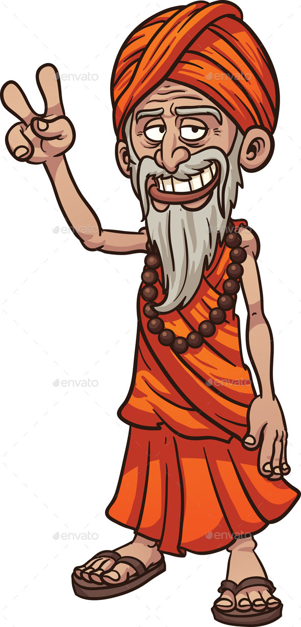 Cartoon Guru - Characters Vectors