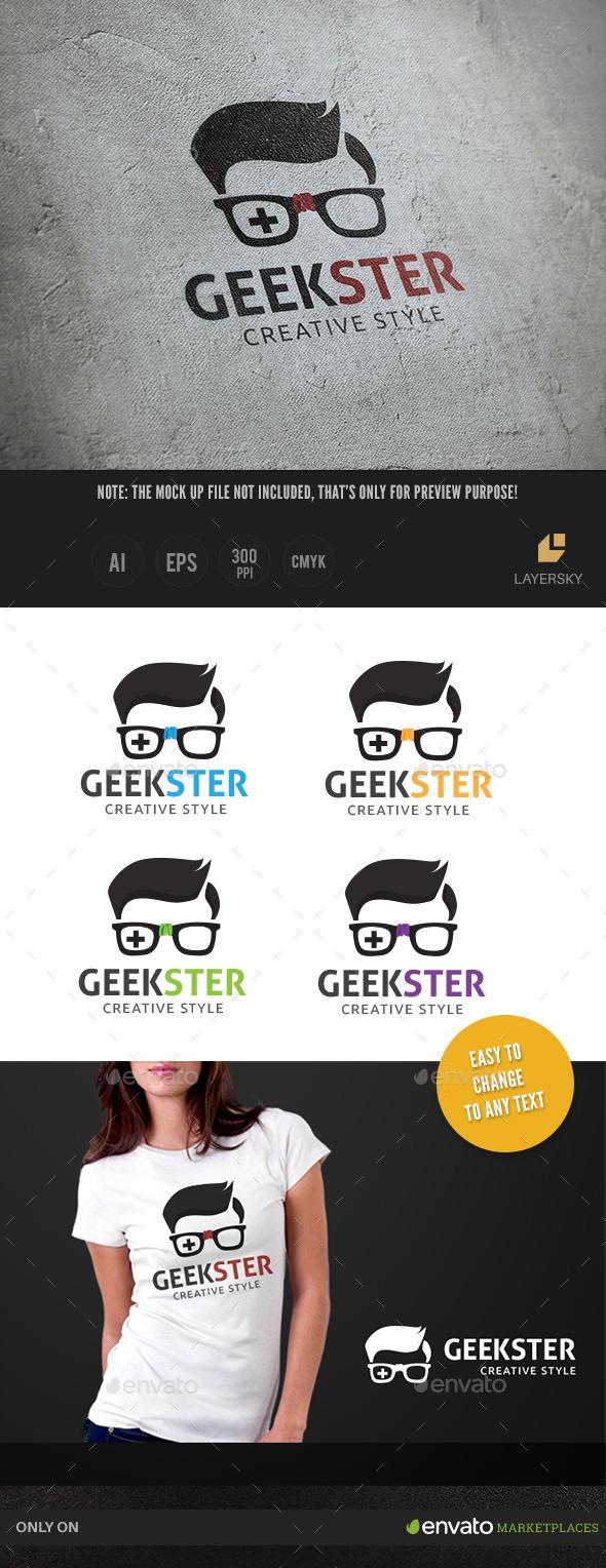 Geek Ster - Humans Logo Templates