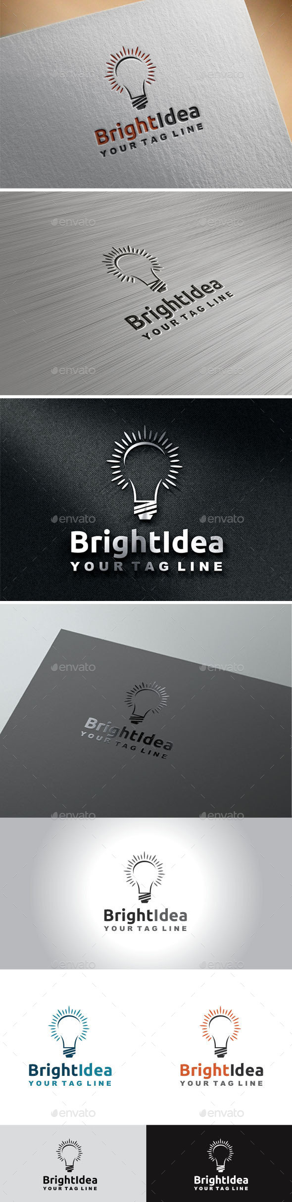 Bright Idea  - Objects Logo Templates