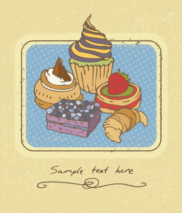 Cakes  - Food Objects