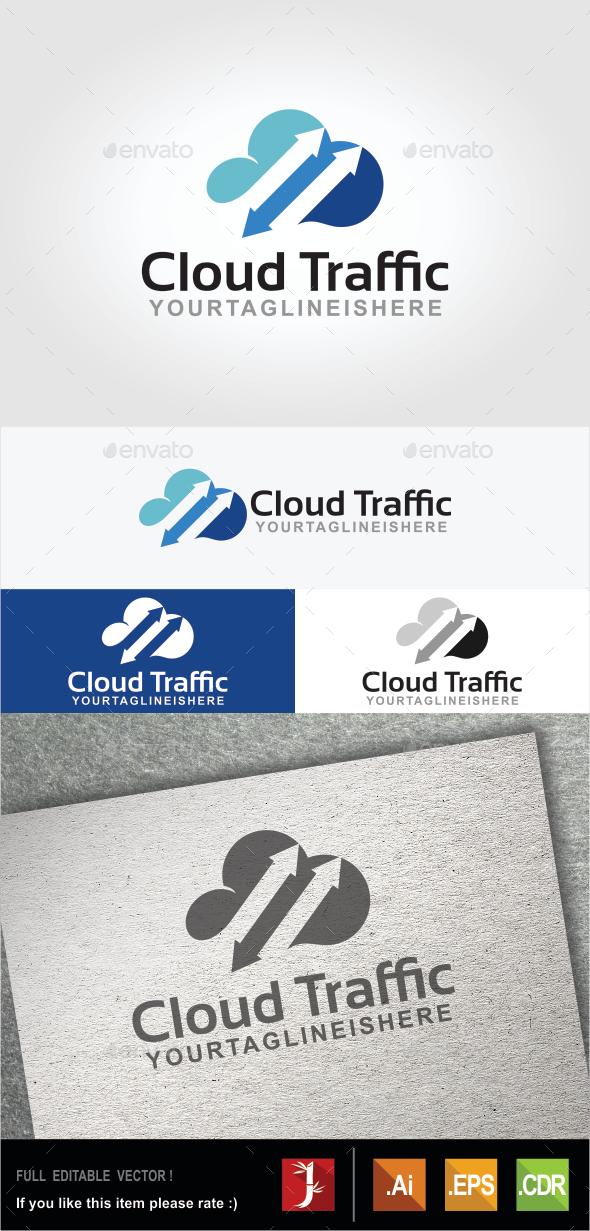 Cloud Traffic - Symbols Logo Templates
