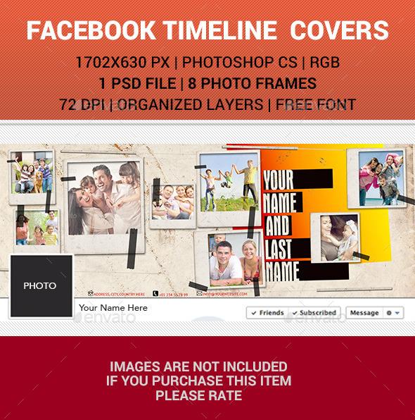 Polaroid Facebook Timeline Cover v23 - Facebook Timeline Covers Social Media