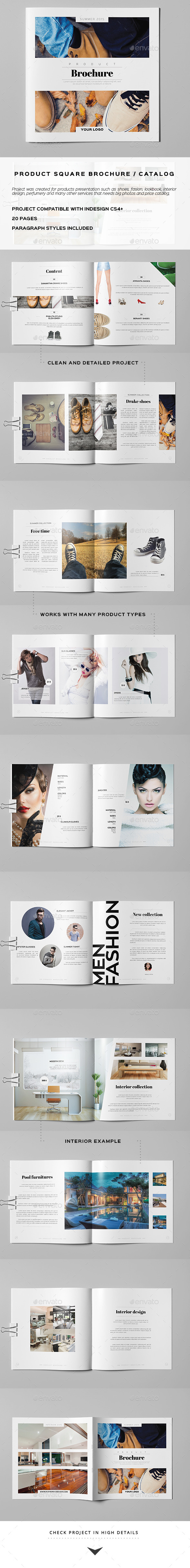Product Square Brochure / Catalog - Catalogs Brochures