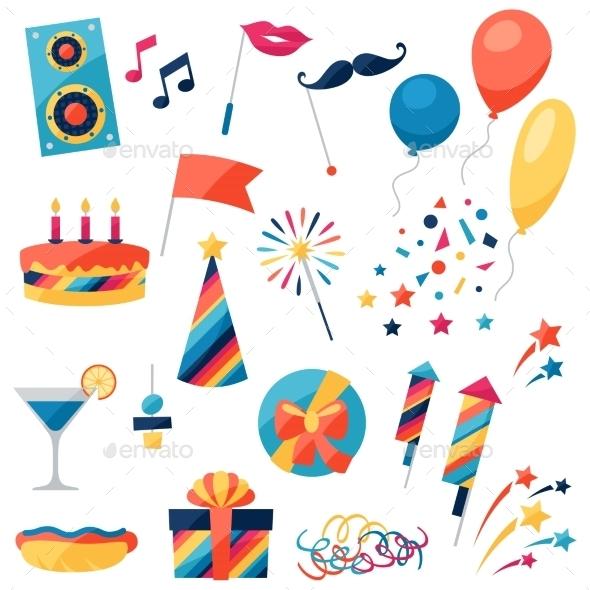 Celebration Set - Birthdays Seasons/Holidays