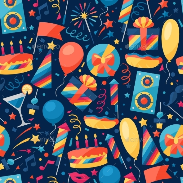 Celebration Pattern  - Birthdays Seasons/Holidays