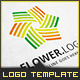 Flower Stream - Logo Template - GraphicRiver Item for Sale