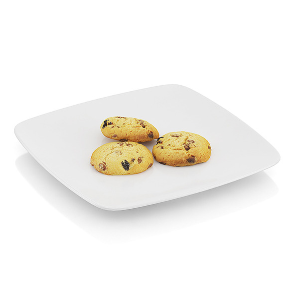 Cookies with chocolate - 3DOcean Item for Sale