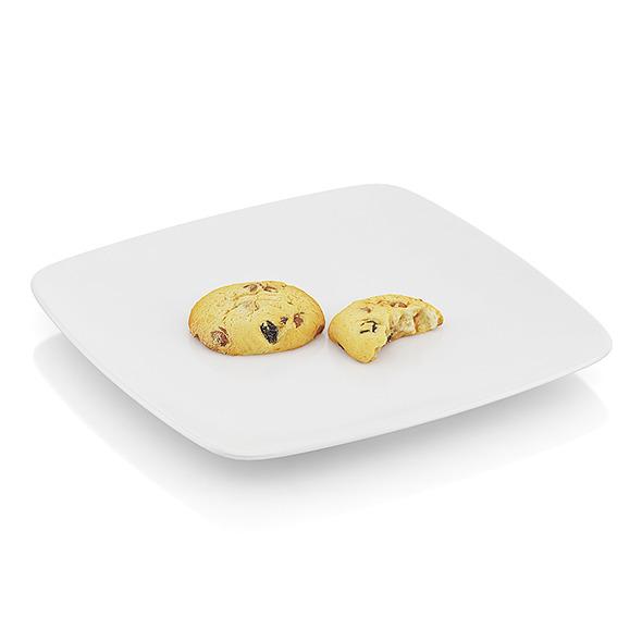 Bitten chocolate cookies - 3DOcean Item for Sale