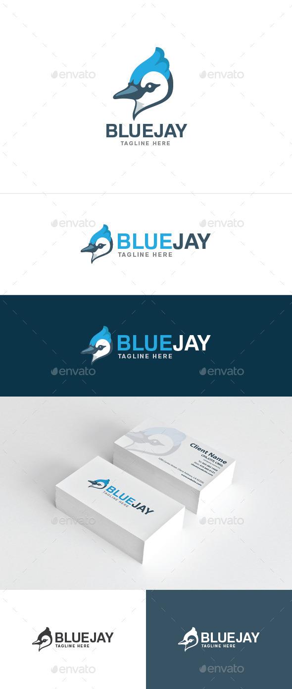 Blue Jay - Animals Logo Templates