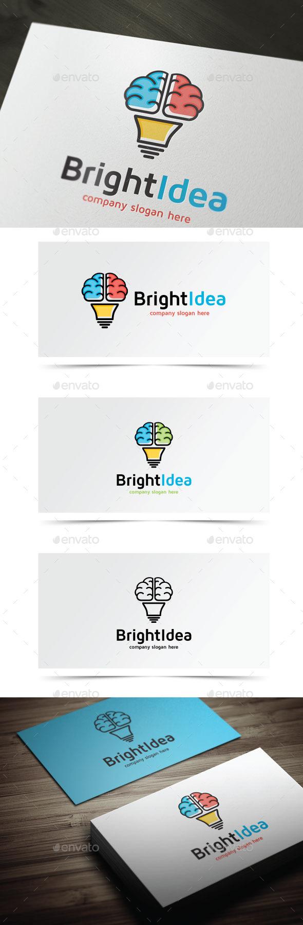 Bright Idea - Objects Logo Templates