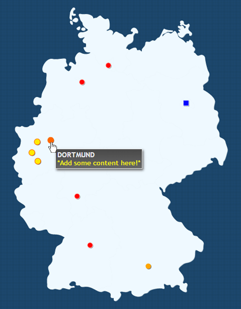 Interactive Map Of Germany HTML By Art CodeCanyon - Germany map image