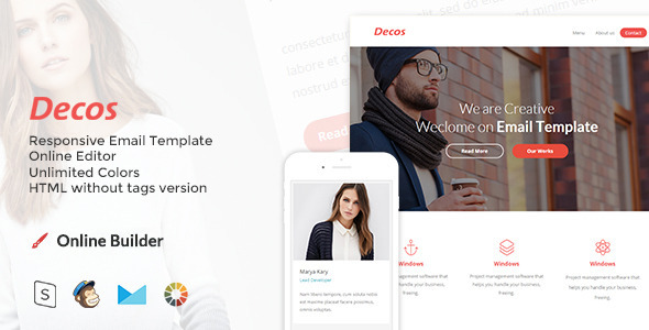 Decos – Responsive Email and Newsletter Template