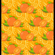 Pattern with Two Orange - GraphicRiver Item for Sale