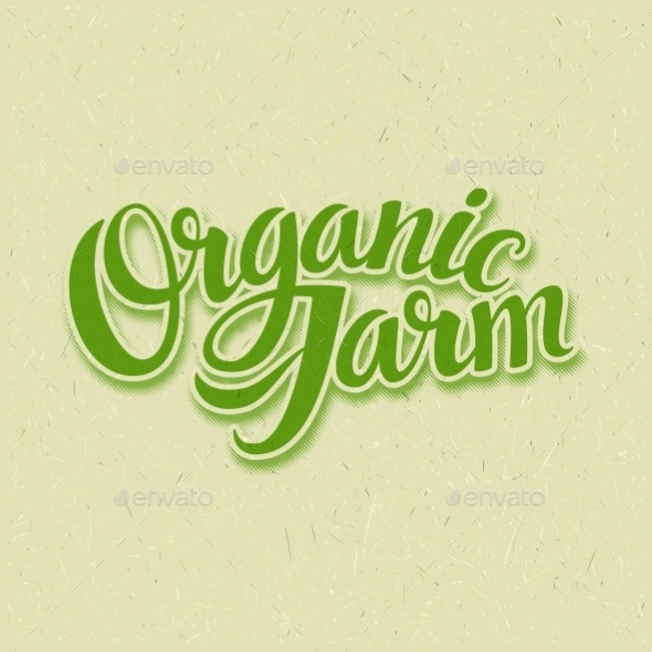 Organic Farm Logo - Miscellaneous Vectors