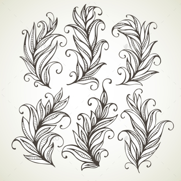 Feathers - Backgrounds Decorative