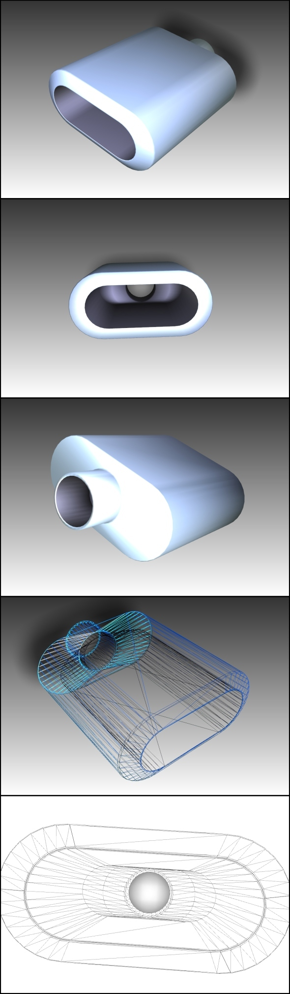 Tuning Exhaust Pipe (CarEx) - 3DOcean Item for Sale