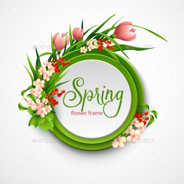 Spring Frame - Nature Conceptual