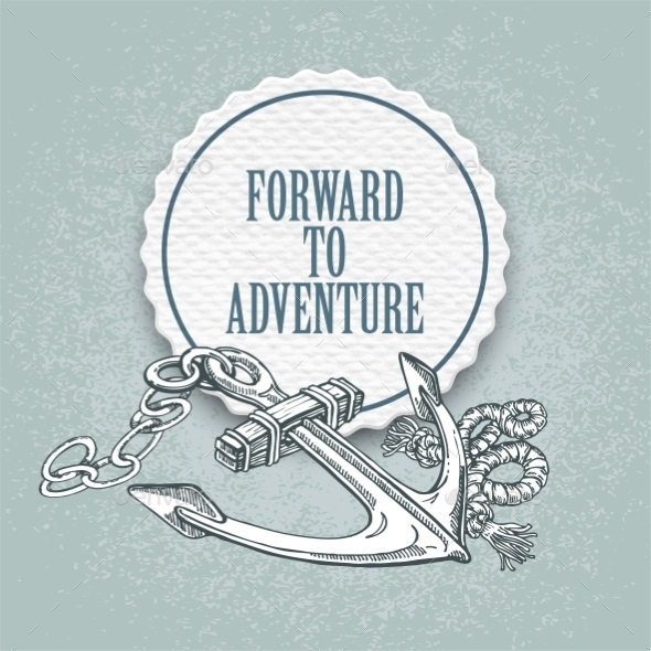 Forward to the Adventure - Travel Conceptual