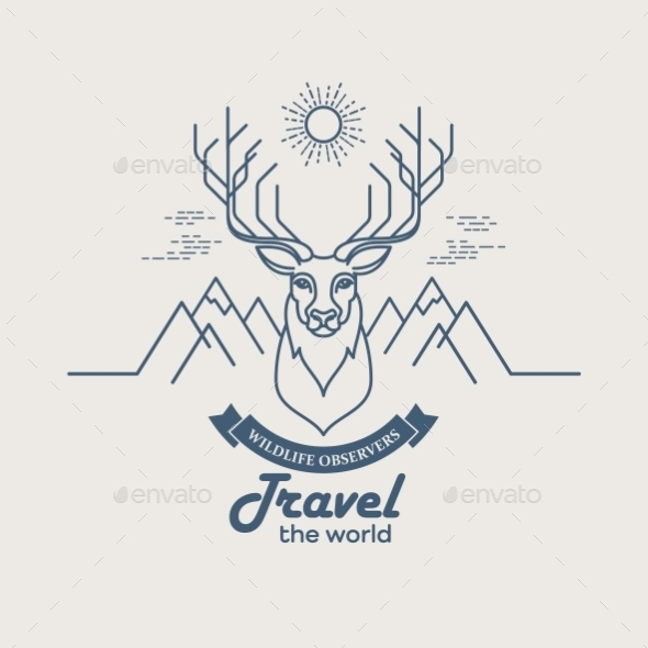 Animals Linear  - Travel Conceptual
