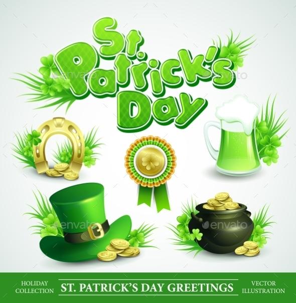 St. Patricks Day Set  - Miscellaneous Seasons/Holidays