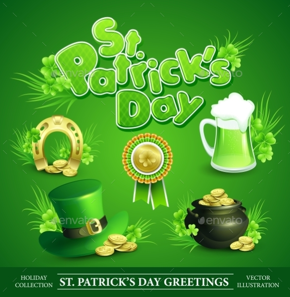 St. Patricks Day Set - Miscellaneous Seasons/Holidays
