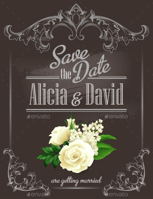 Save the Date  - Weddings Seasons/Holidays