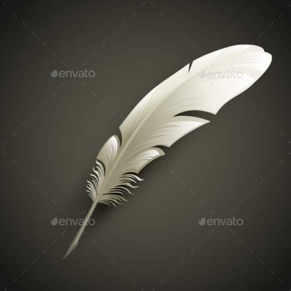 Feather - Objects Vectors