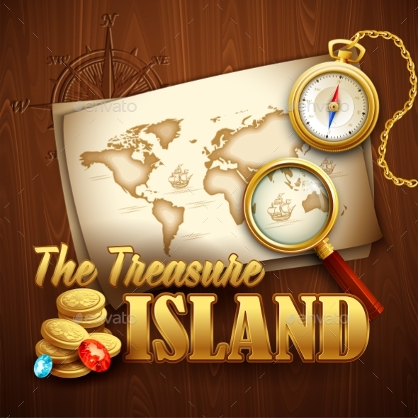 Treasure Island - Travel Conceptual