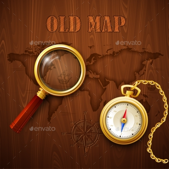 Old Map - Travel Conceptual