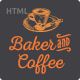 Baker & Coffee HTML Template - ThemeForest Item for Sale