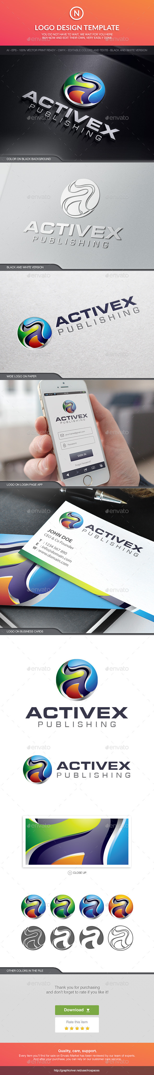 Activex Technology - 3d Abstract
