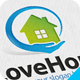 Love House Logo - GraphicRiver Item for Sale