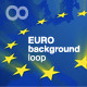 euro stars background loop - VideoHive Item for Sale