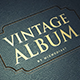 Vintage Album - VideoHive Item for Sale