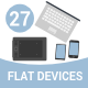Flat Devices - GraphicRiver Item for Sale