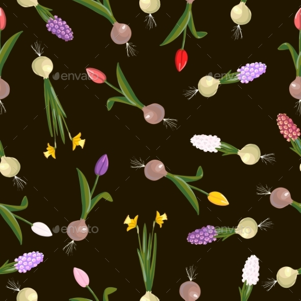Flowers Pattern - Flourishes / Swirls Decorative