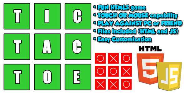 Classic TIC TAC TOE - CodeCanyon Item for Sale