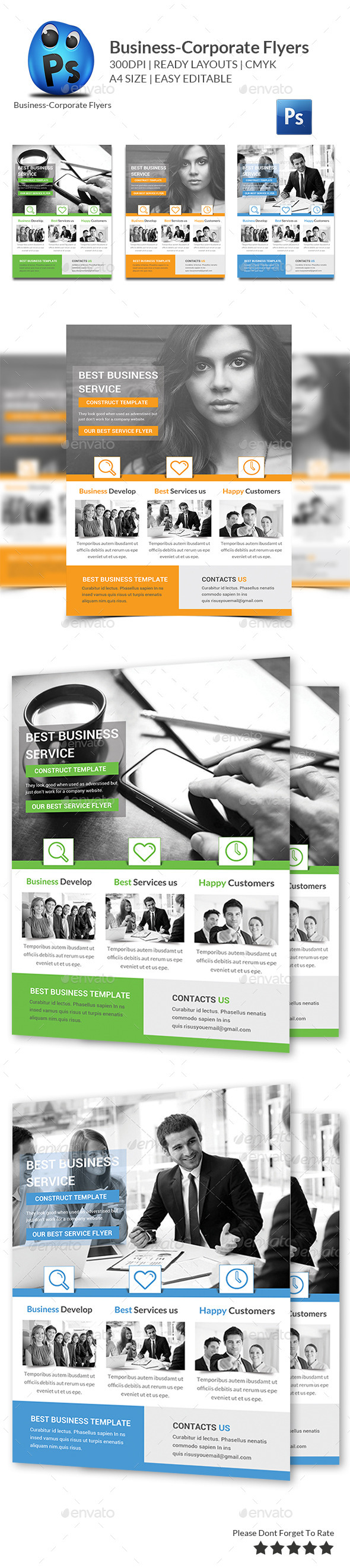 Business Flyers Templates - Flyers Print Templates