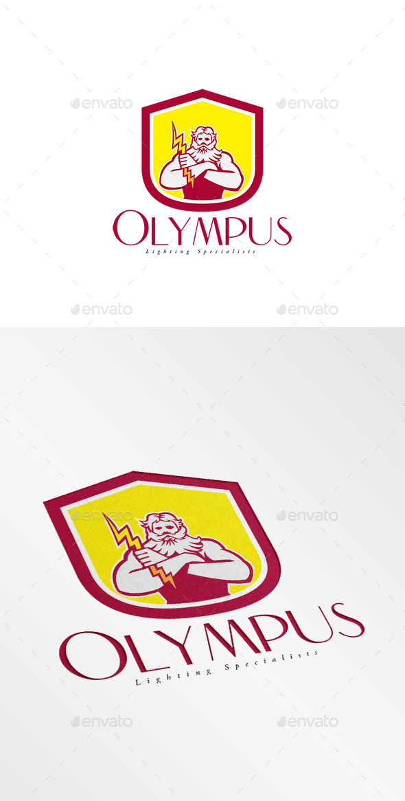 Olympus Lighting Specialist Logo - Humans Logo Templates